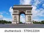 paris  france   june 29  2014....   Shutterstock . vector #570412204