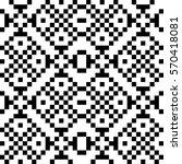 vector seamless pattern.... | Shutterstock .eps vector #570418081