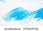 abstract big blue and white... | Shutterstock . vector #570425701