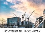 high rise building under... | Shutterstock . vector #570428959