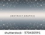 geometric graphic background... | Shutterstock .eps vector #570430591