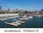 old port of montreal  quebec ... | Shutterstock . vector #570462175