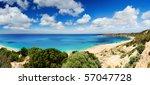 Beautiful Australian Beach - stock photo