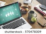 family insurance reimbursement... | Shutterstock . vector #570478309