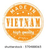 """rubber stamp with text """"made in ... 