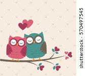 Cute Owls In Love