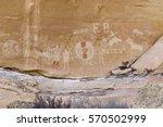 Ute Indian Petroglyphs  Sego...