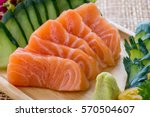 japanese traditional food...   Shutterstock . vector #570504607