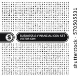 business and finance icon set... | Shutterstock .eps vector #570505531