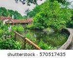 duck island cottage  st james's ... | Shutterstock . vector #570517435