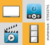 mobile media player icons...