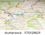 us atlas closeup | Shutterstock . vector #570528829