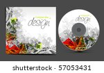 vector cd cover design template ... | Shutterstock .eps vector #57053431