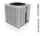 air conditioner outdoor system... | Shutterstock .eps vector #570534889