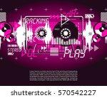 music vintage grange retro... | Shutterstock .eps vector #570542227