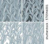 vector backgrounds set | Shutterstock .eps vector #570546001