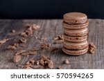 french tasty chocolate... | Shutterstock . vector #570594265