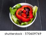 salad | Shutterstock . vector #570609769