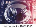 professional concert dj... | Shutterstock . vector #570624565