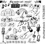 Big Vector Set   Sketchy Music...