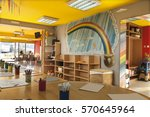 a day care center for children... | Shutterstock . vector #570645964