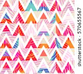 abstract triangle background... | Shutterstock .eps vector #570655567