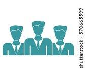 vector illustration of group of ... | Shutterstock .eps vector #570665599