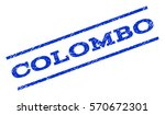 colombo watermark stamp. text... | Shutterstock .eps vector #570672301