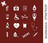 medical icons | Shutterstock .eps vector #570679159