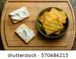 Salted Crackers With Herbal...