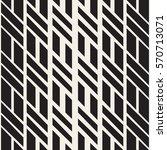 stylish minimalistic halftone... | Shutterstock .eps vector #570713071