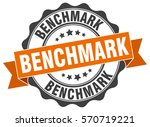 benchmark. stamp. sticker. seal.... | Shutterstock .eps vector #570719221