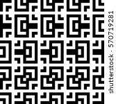 vector seamless pattern.... | Shutterstock .eps vector #570719281