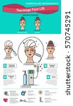 vector illustrated set with...   Shutterstock .eps vector #570745291