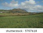 irish mountain and countryside