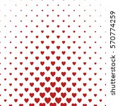 red and white heart pattern... | Shutterstock .eps vector #570774259