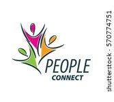 vector logo people | Shutterstock .eps vector #570774751