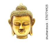 Buddha Gold Head