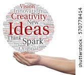concept conceptual creative new ... | Shutterstock . vector #570778414