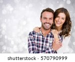 composite image of smiling... | Shutterstock . vector #570790999