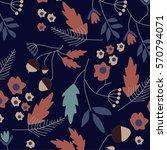 flower pattern | Shutterstock .eps vector #570794071