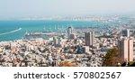 View Of Haifa From The Bahai...