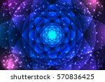 sacred geometry symbols and... | Shutterstock .eps vector #570836425