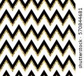 seamless pattern of golden... | Shutterstock .eps vector #570844681