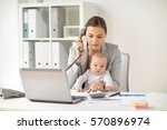 business  motherhood  multi...   Shutterstock . vector #570896974