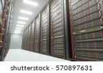 3d illustration  server room in ... | Shutterstock . vector #570897631