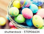 easter  holidays  tradition and ... | Shutterstock . vector #570906634