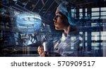 innovative technologies in...   Shutterstock . vector #570909517
