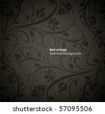 seamless floral background | Shutterstock .eps vector #57095506