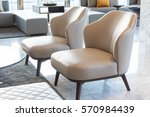 empty sofa or chair interior... | Shutterstock . vector #570984439